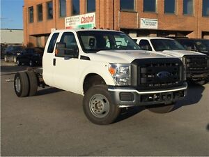 2011 Ford F-350 CHASSIS CAB DIESEL! 4X4!