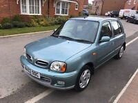 nissan micra 1.0 5 door 11 month mot taxed low milage ideal first car £425 ovno