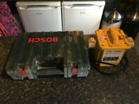 110v Bosch small angle grinder with Transformer & discs