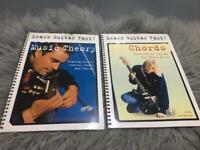 Learn Guitar Fast Books x 2