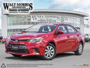 2016 Toyota Corolla LE: HEATED SEATS, REARVIEW CAMERA & BLUETOOT