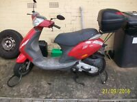 Piaggio zip 100 moped. Starts first time.