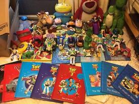 Large Toy Story bundle for quick sale.