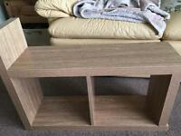 Slim side/lamp table