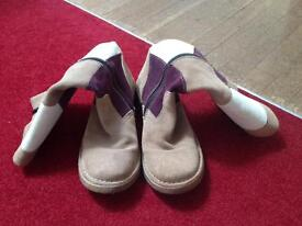 Harlequin styled Fly boots