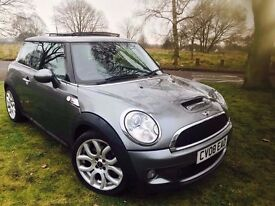 2008 MINI HATCH 1.6 COOPER S * LOW MILES* SERVICE HISTORY* LOW MILES* PAN ROOF* FULLY LOADED*