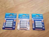 Eneloop aaa recharge batteries