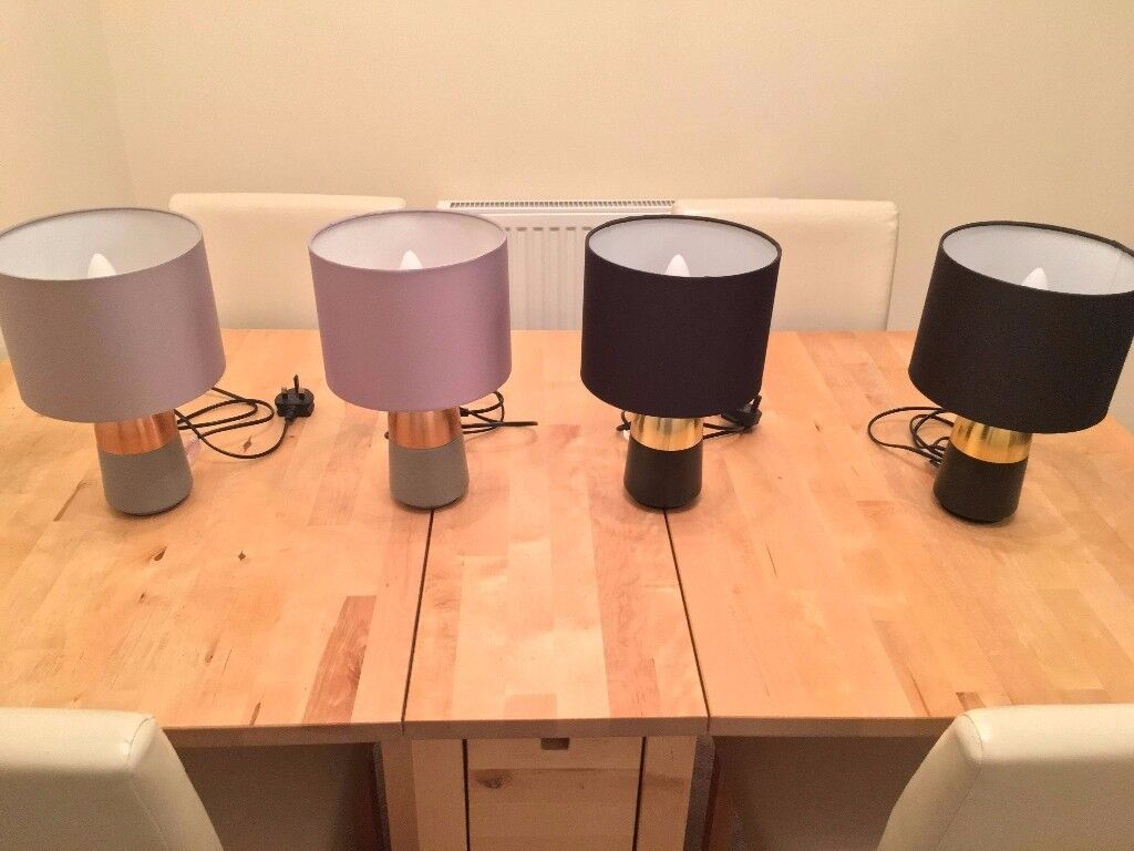 Argos touch table lamps set of 4 in cambridge cambridgeshire argos touch table lamps set of 4 aloadofball Gallery