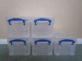 5 Small Storage Boxes