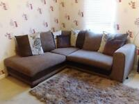 3 seater sofa, Corner Group and twister chair