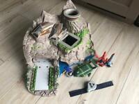 Interactive Tracy island thunderbirds vehicles