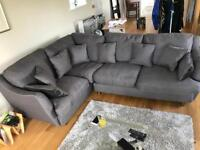 Corner sofa and love seat by House of Fraser Linea