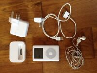 Apple iPod Photo 30GB - M9829LL - Inc USB charger, dock, ear buds, cable bundle