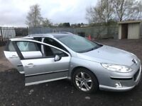 Peugeot 407hdi estate diesel car breaking