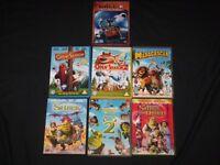 7 CHILDREN'S DVDs SHREK, OPEN SEASON, MADAGASCAR, WALL E,
