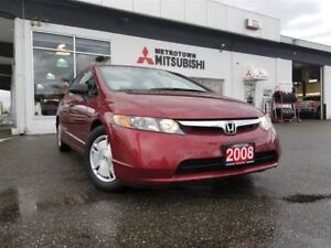 2008 Honda Civic DX-G; Only 92,043 KMS!