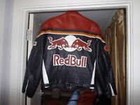 red bull leather.