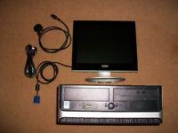 RM Expert 3030 Desktop PC & Monitor Windows 10 Pro - Ready to Use - 80GB HDD 4GB RAM