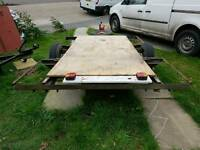 Flat bed trailer free local delivery