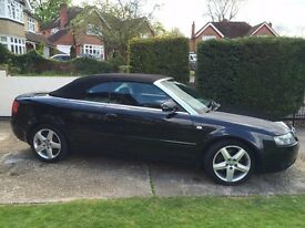 Audi A4 1.8 Turbo , Sports convertible,Good Condition inside and out.Great Summer Car
