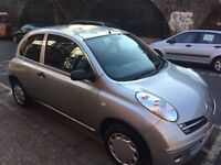 NISSAN MICRA 2005 AUTOMATIC 3 DOOR IN EXCELLENT CONDITION, THREE MONTHS WARANTY