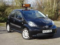 Toyota Aygo 1.0 VVT-i Black 5dr AIR CONDITIONING + £20 ROAD TAX