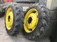 John Deere 50 seriesWheels, And Tyres
