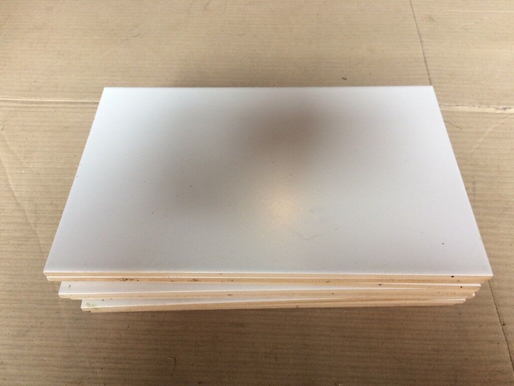 26 PLAIN WHITE TILES - BRAND NEW