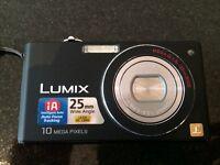 LUMIX digital camera with case