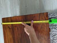 Mango wood coffee table/storage