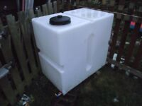 Water tank ( used for window cleaning) 400 litres, nearly new