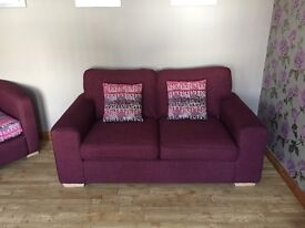Sofa mulberry in colour