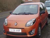 RENAULT TWINGO 12. /08 REG /MOT OCT 2017LOW MILAGE AT 58000/FULL REPE0T ON THIS CAR