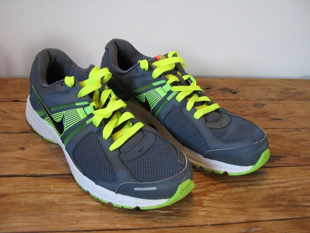 on sale 46cfc 6c92f Nike Dart 10 Mens Running Shoes  Trainers. Blue  Green. Size UK 11  EU  46. Almost as new.