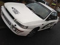 Subaru Impreza 2l auto with mot