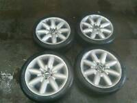 17mini wheels with tires
