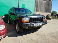 Jeep Grand Cherokee Orvis A 1999 4.0 Petrol ENGINE Automatic SPARE OR REPAIR