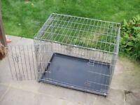 Dog cage Savic twin door medium sized