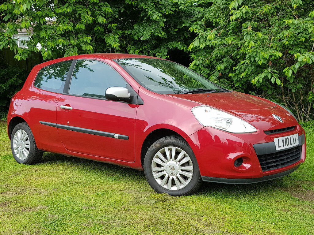 2010 RENAULT CLIO 1 2 I-MUSIC ONLY 16K MILES 1 F