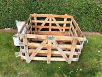 Wooden crate pallet box - free to uplift - will need van or trailer