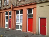 Fully/Partially Furnished Ground Floor Main Door Double-Bedroom Flat by The Shore, Leith