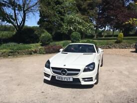 2012 Mercedes Benz SLK200 AMG Blue sport-ciency auto 7G-tronic low mile fmbsh ***REDUCED***