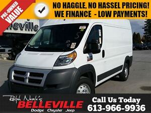 2014 Ram ProMaster 2500 Cargo 136 High-Diesel Engine-Power Seat