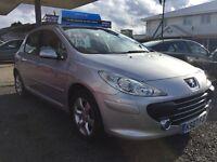 Peugeot 1.6 silver 5 door *reduced price*