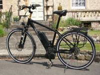 Kahlkoff Pro Connect S10 Fast Pedelec Electric Bike 28mph 350W Bosch 2 Batteries