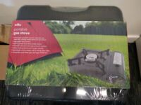Wilko portable gas stove NEW Sealed