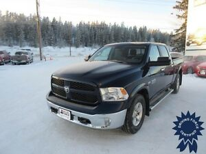 2014 Ram 1500 Outdoorsman 6 Passenger Short Box 4x4 Truck