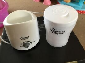 Baby bottle warmer & travel steralizer