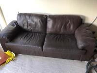 3 Seater Leather Sofa!
