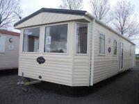 Wheelchair friendly static caravan for sale on luxury leisure park/entertainment/lakes/showbar/golf